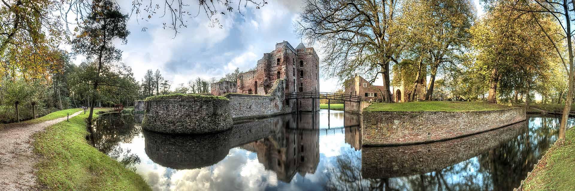 Diverse ruïnes in Nederland