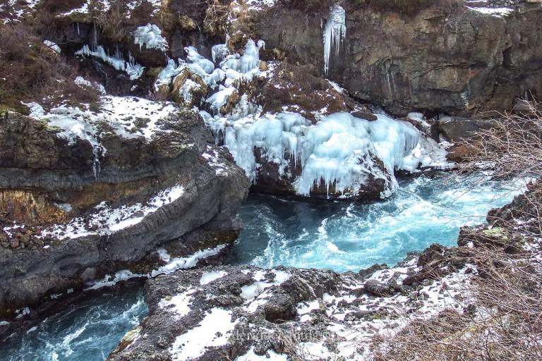ijsland, natuurfotografie, reizen, vakantie, barnafoss