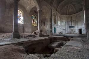 Gravestone Church, urbexlocatie