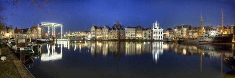 Steden, HDR fotografie, blauwe uurtje