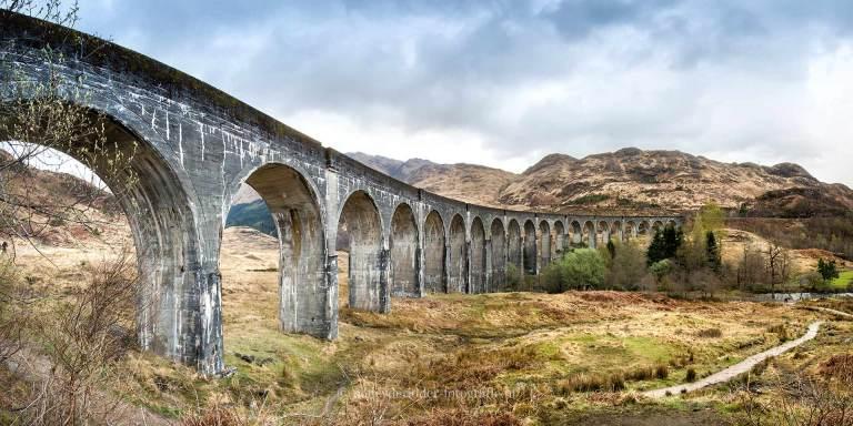 schotland, reizen, vakantie, landschappen, glencoe, glenn-finnan, viaduct