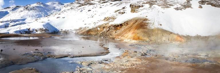ijsland, natuurfotografie, reizen, vakantie, seltun, waterbron