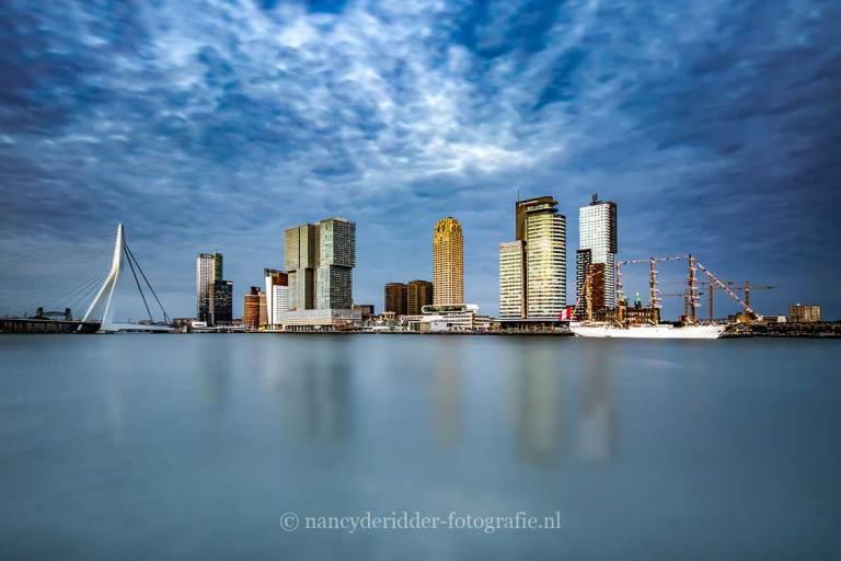 Steden, rotterdam, skyline, BAP-union
