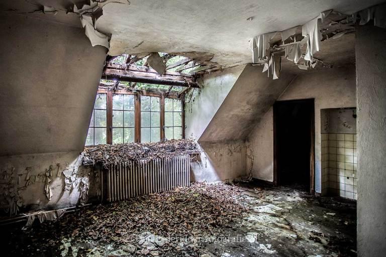 Villa SS, Urbexlocatie, verlaten huis
