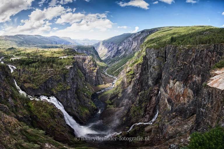 Noorwegen, fjorden, reizen, Voringfossen