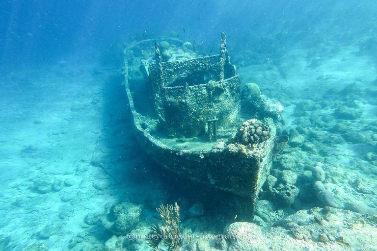 reizen, curaçao, snorkelen, duiken, gezonken-boot