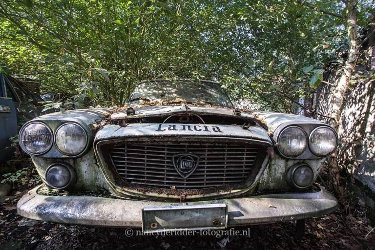 Viva Lancia, automerk, verlaten terrein