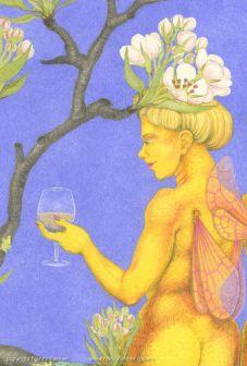 Perry Pear Fairies, detail 2