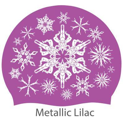 'Swimflakes' hat, lilac