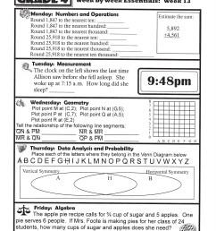Homework Help For Grade 7-10 Math Students! 7th Grade Math Homework Help [ 2200 x 1700 Pixel ]