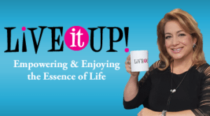 Nancy has been featured on Live it Up Empowering and Enjoying the Essence of Life with Donna Drake