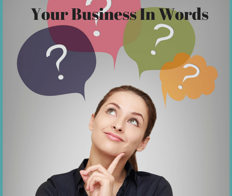 Your Business in Words – Just the beginning