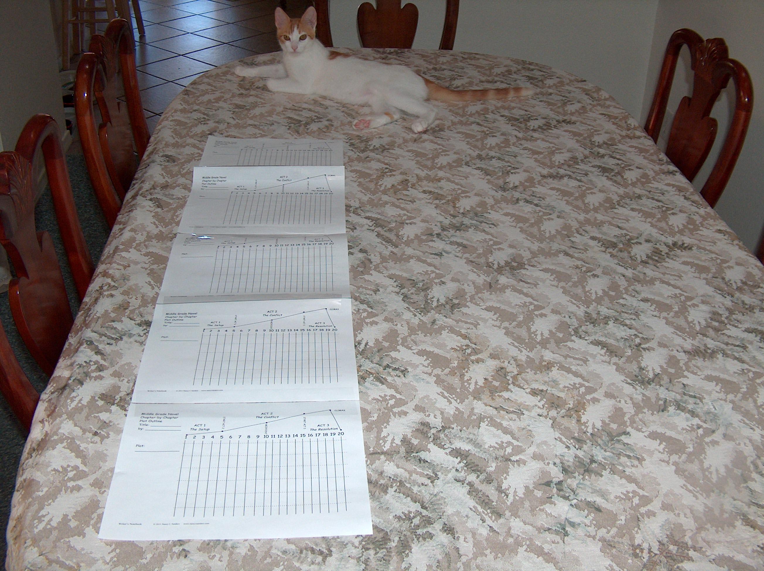 Middle Grade Novel Detailed Plot Charts