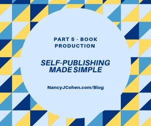 Self Publishing Part 5