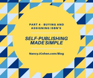 Self Publishing Part 4