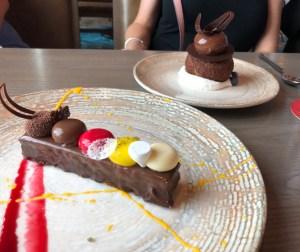 Dessert at Toledo