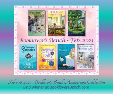 Giveaway Booklover's Bench