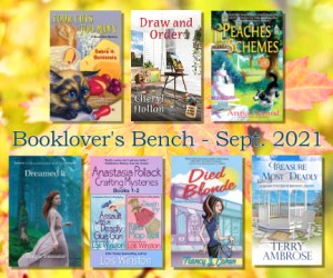 Booklovers Bench Sept Giveaway