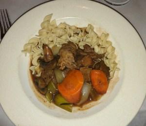 Beef Borgignon