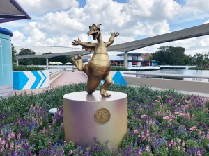 Gold Statue of Figment