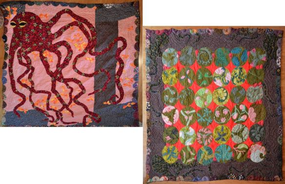 Octopus And Bug Quilt
