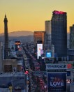 Sunset over The Strip