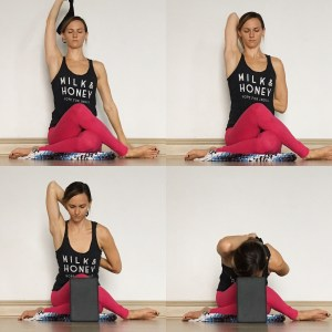 Cow Face - Yin Yoga