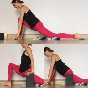 Low Lunge - Yin Yoga