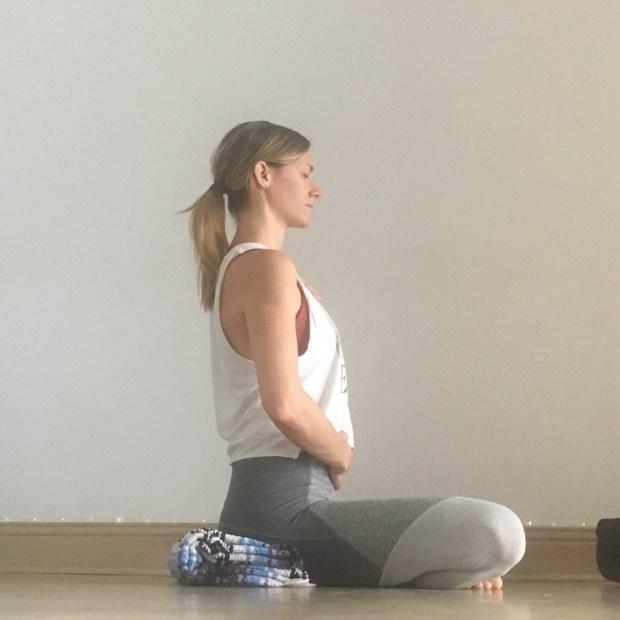 Yin Yoga: Sukhasana