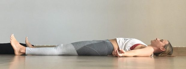 Yin Yoga: Savasana / Corpse Pose