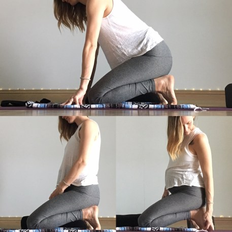 Toe Squat - Yin for Urinary Bladder Meridian