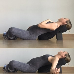 Supported Fish / Butterfly - Prenatal Yin Yoga Sequence