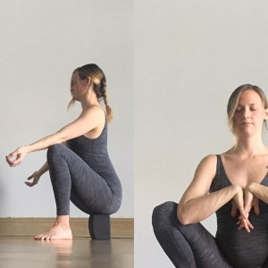 squat  prenatal yin yoga sequence  nancy nelson