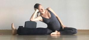 Side Body Stretch - Prenatal Yin Yoga Sequence