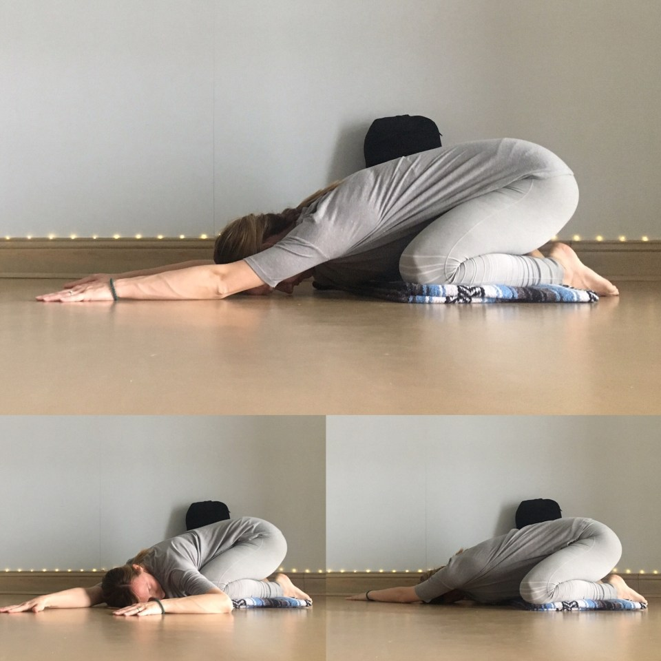 Energizing Spring Yin Sequence - Childs Pose