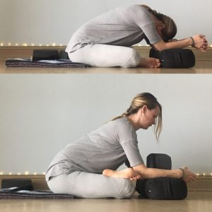 Energizing Spring Yin Sequence - Square Pose
