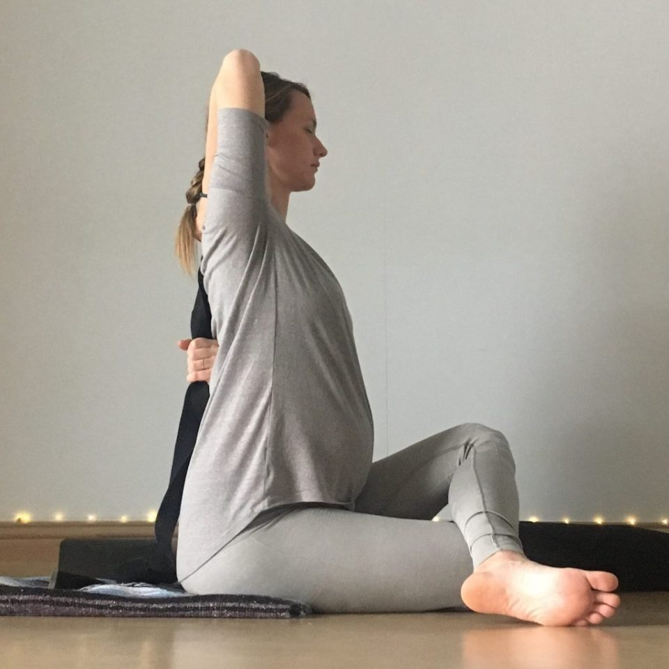 Energizing Spring Yin Sequence - Shoelace / Cowface Shoulder Stretch