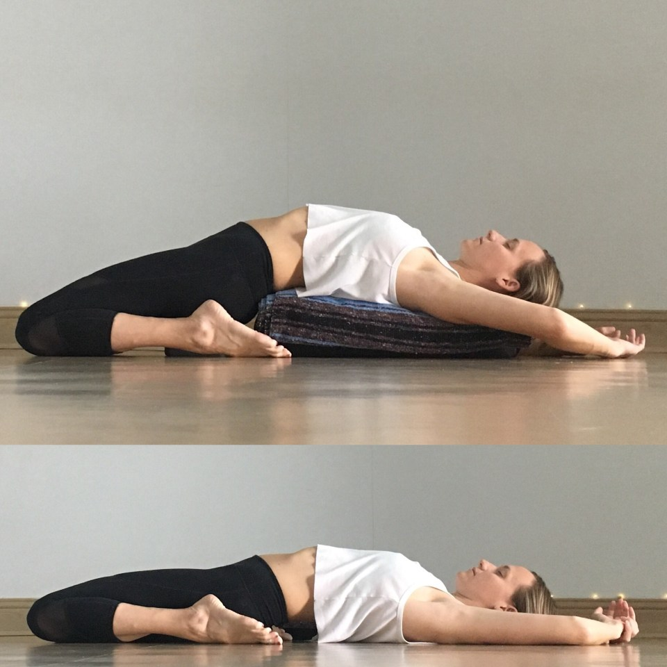 Yin Yoga Sequence - Low Back Love - Saddle / Hero Pose