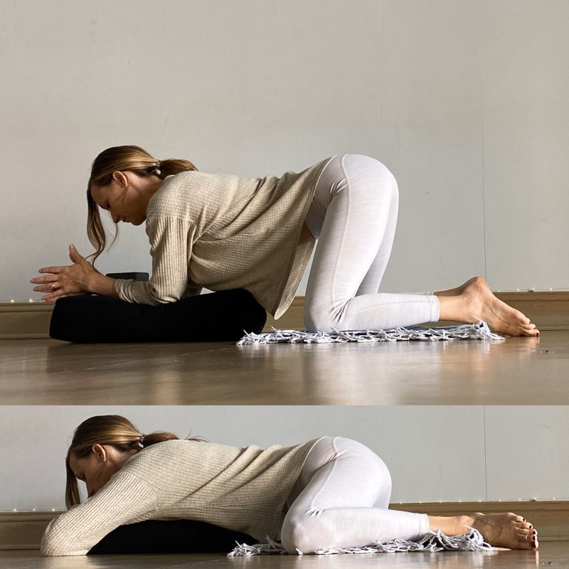 Yin Yoga Sequence - Journey to Frog Pose - Frog