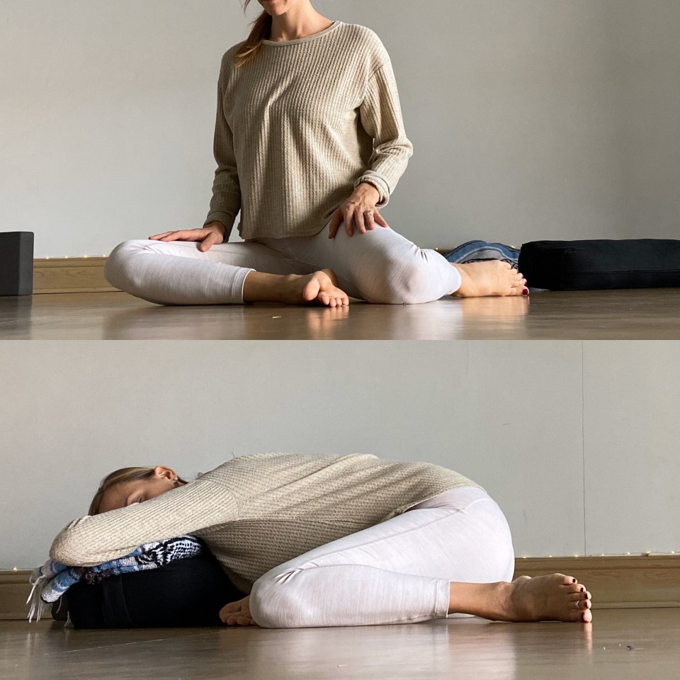 Yin Yoga Sequence - Journey to Frog Pose - Deer
