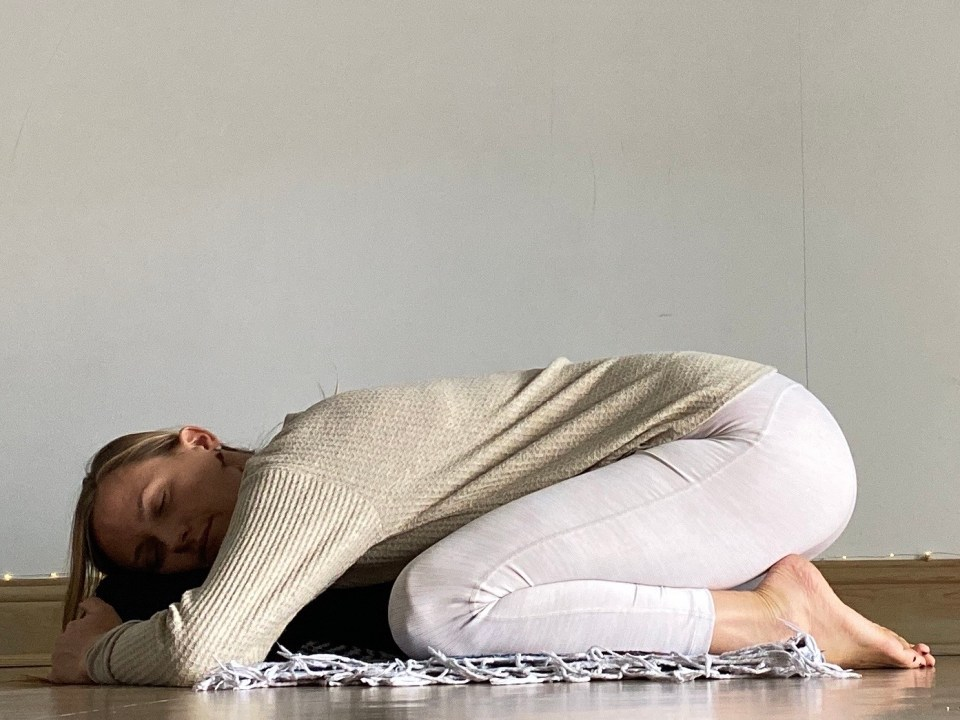 Yin Yoga Sequence - Journey to Frog Pose - Childs