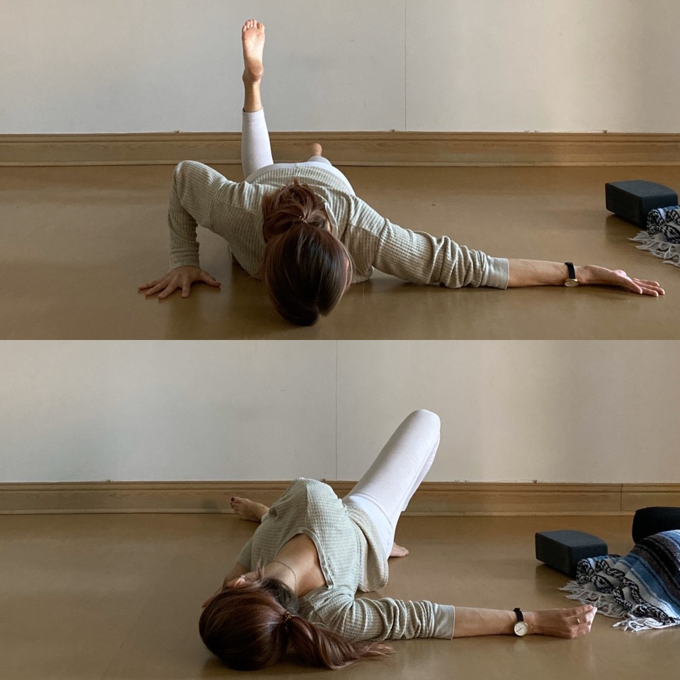 Yin Yoga Sequence: Reverse Needle