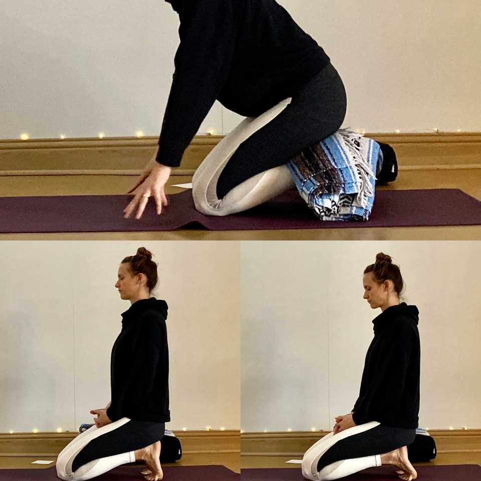 Yin for Immunity | Toe Squat