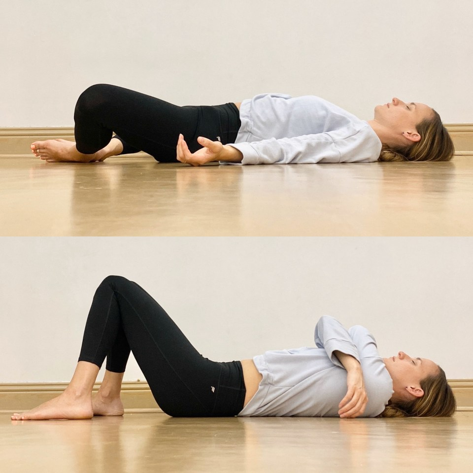 Yin Yoga Sequence | Liver and Gallbladder Meridians | Reclined Butterfly + Constructive Rest
