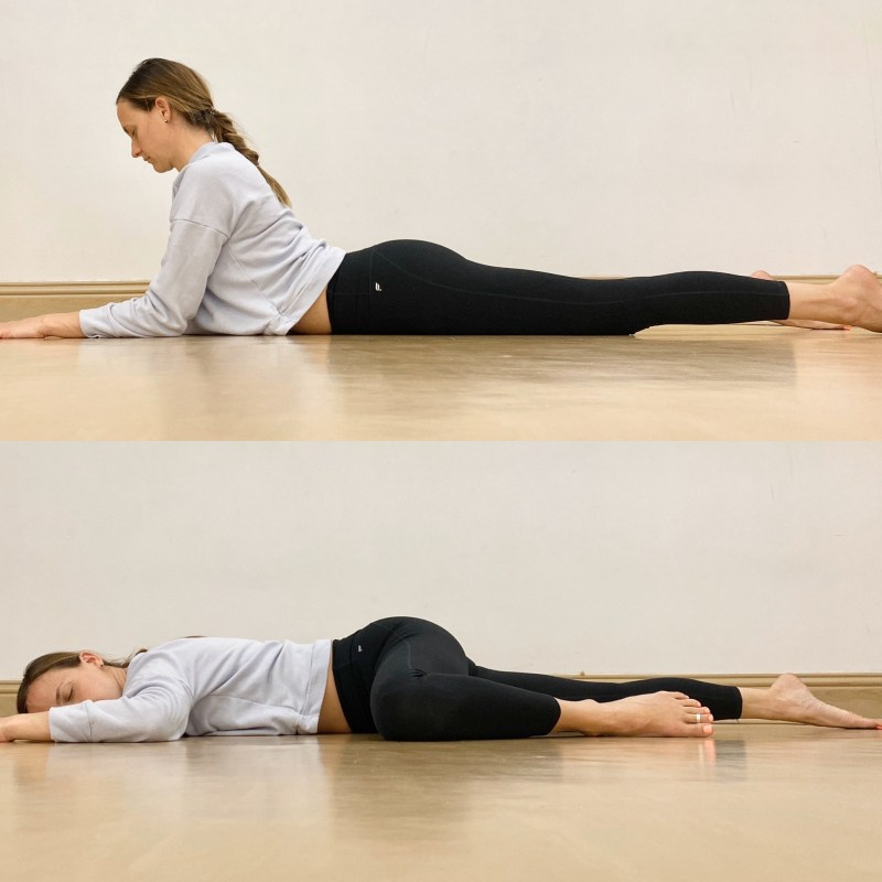 Yin Yoga Sequence | Liver and Gallbladder Meridians | Sphinx + Half Frog