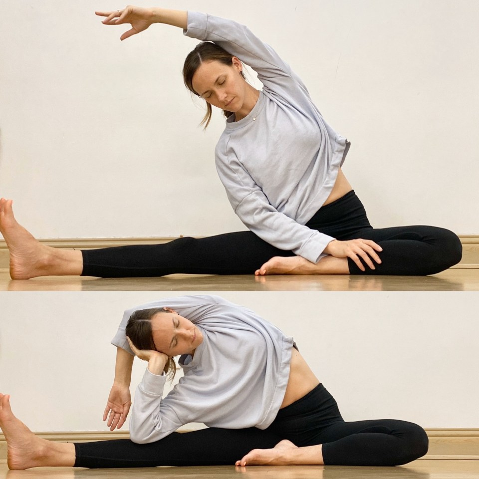 Yin Yoga Sequence | Liver and Gallbladder Meridians | Half Butterfly + Side Bend