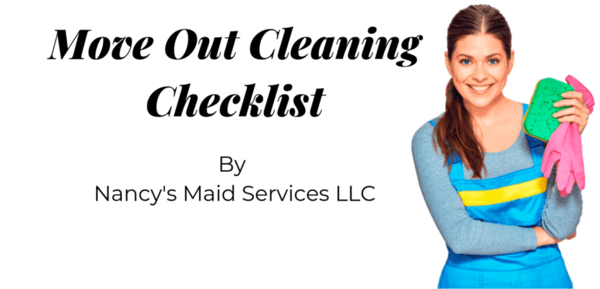 Move Out Cleaning Checklist Landlord