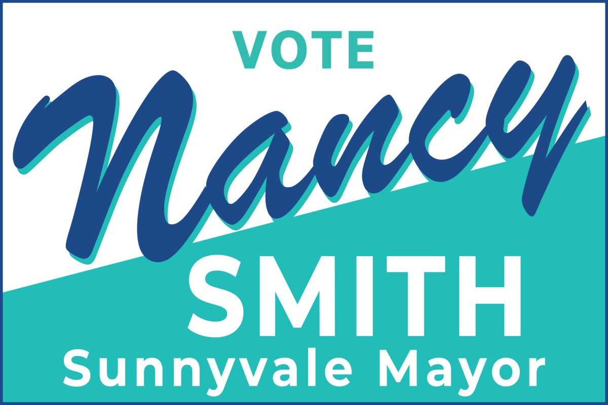 Vote Nancy Smith for Sunnyvale Mayor logo