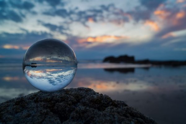 If you had a crystal ball for the New Year, would you take a look?
