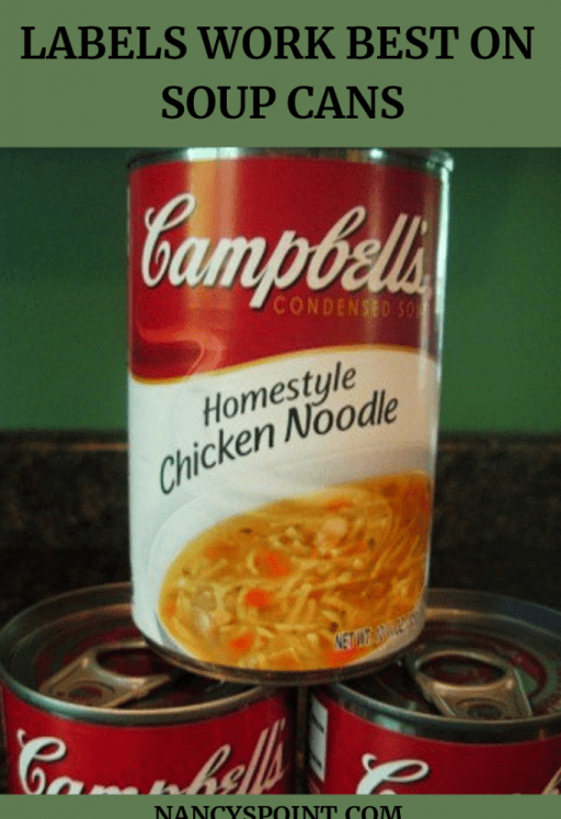 Labels Work Best on Soup Cans #cancer #breastcancer #cancerlanguage